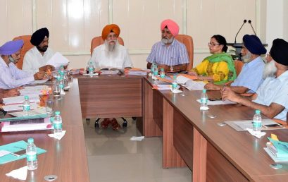 Khalsa University Academic Council Approves Various UG, PG & Research Degree Courses