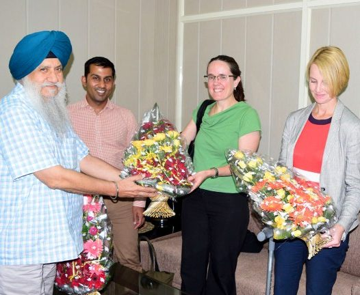 KU VC Discuss Education Scenario with Australian Officials